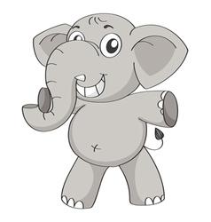 an elephant vector image vector image