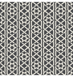 Seamless abstract ornamental pattern in Arabic vector image vector image