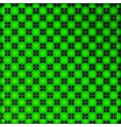 Bright green geometrical background vector image vector image