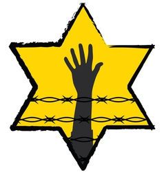 holocaust vector image vector image