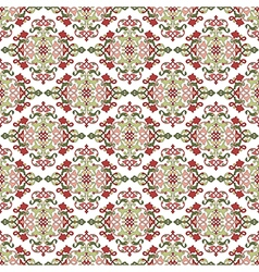 Antique ottoman turkish pattern design fourty vector