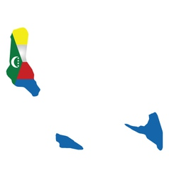 Comoros Flag vector