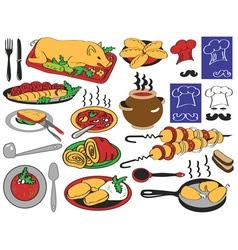 Food restaurant vector