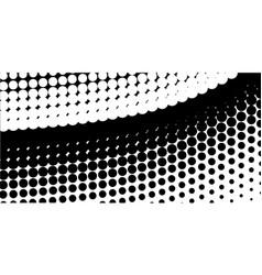 half tone curve vector image