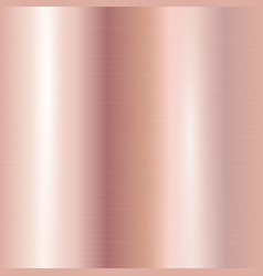Rose gold plate vector