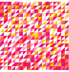 tile pattern with triangle mosaic background vector image