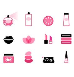 luxury cosmetic vector image