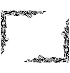 Decorative Border Style 1 Large vector image
