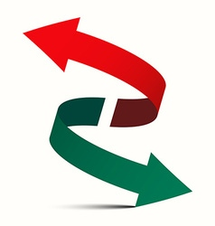 Double Arrow - Diagonal Left Right and Up Down vector image