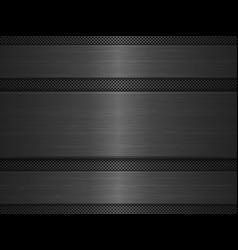 black metal texture background vector image