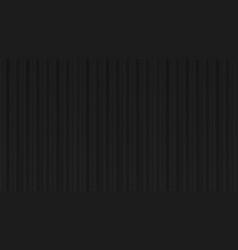 black silk curtain realistic elegant drapery vector image