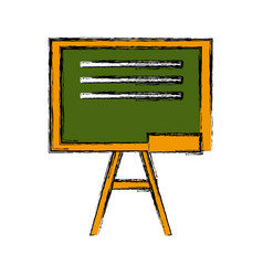 blackboard education isolated vector image