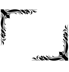 Decorative Border Style 2 Large vector