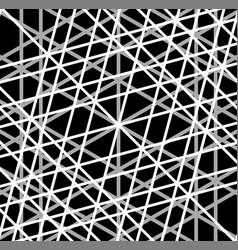 Grid mesh of irregular random lines artistic vector