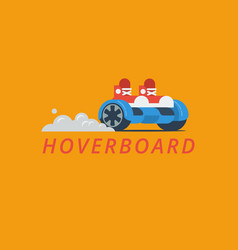 Hoverboard vector