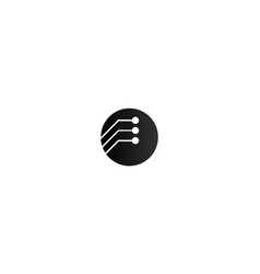 it logo vector image
