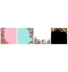 Ornamental graphic art decor seamless wallpaper vector