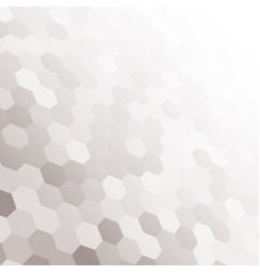 perspective hexagon hex mosaic tile the background vector image