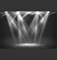 spotlight vintage background vector image
