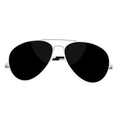 sunglasses steel vector image