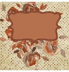 floral background EPS 8 vector image