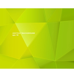 Abstract green paper background with place for vector image