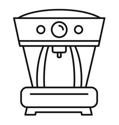 Aeropress coffee machine icon outline style vector