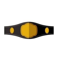 Belt icon Boxing design graphic vector