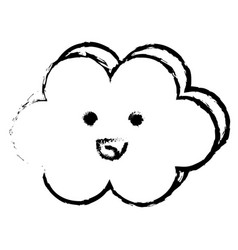 Cloud sky baby vector