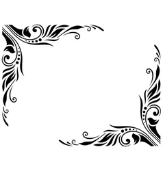 Decorative Border Style 3 Large vector
