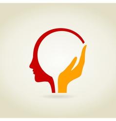 Head4 vector image