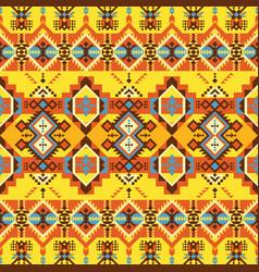 Navajo print aztec pattern geometric dezign vector