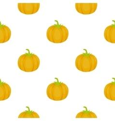 Pumpkin icon cartoon Singe vegetables icon from vector image