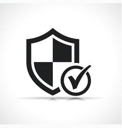shield symbol icon design vector image
