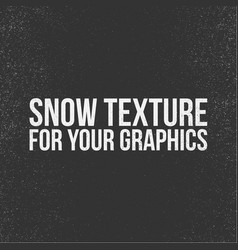 snow texture for your graphics vector image