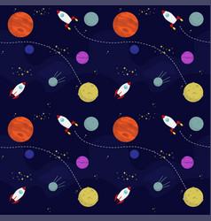 Space wallpaper vector