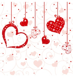st valentine greeting card vector image