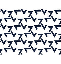 Triskelion seamless pattern black symbols vector