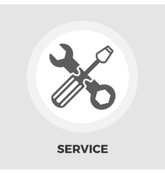 Repair icon flat vector image vector image