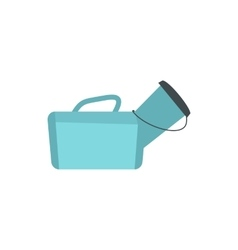 Medical bag icon flat style vector image vector image