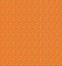 Repeating geometric background seamless pattern vector image vector image