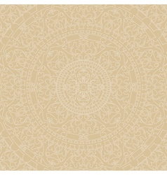 beige background with ornaments vector image