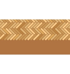 Abstract wooden floor panels horizontal seamless vector
