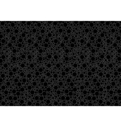 Black Dotted Background vector image