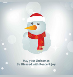 happy christmas happy new year merry christmas vector image