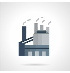 Indusrtial architectures flat icon vector image