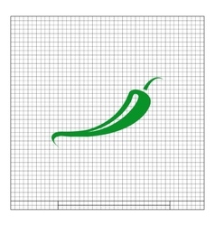 Jalapeno peppers symbol vector