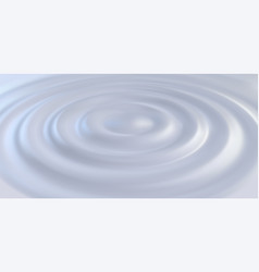 Liquid creamy surface with ripples vector