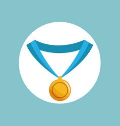 Medal award sport image vector