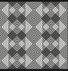 monochrome geometric herringbone seamless pattern vector image